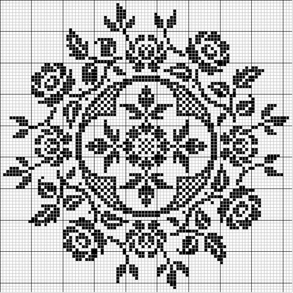 Рукодельница. org Вышивка крестом: бесплатные схемы для вышивания