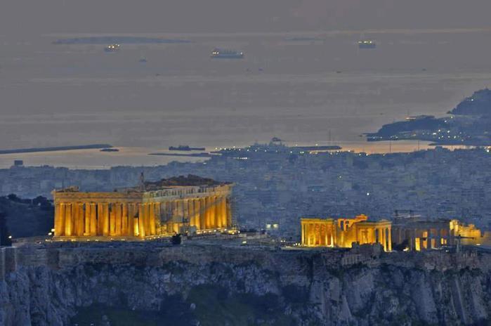 Афины - Вечный свет цивилизации - Греция (700x464, 34Kb)