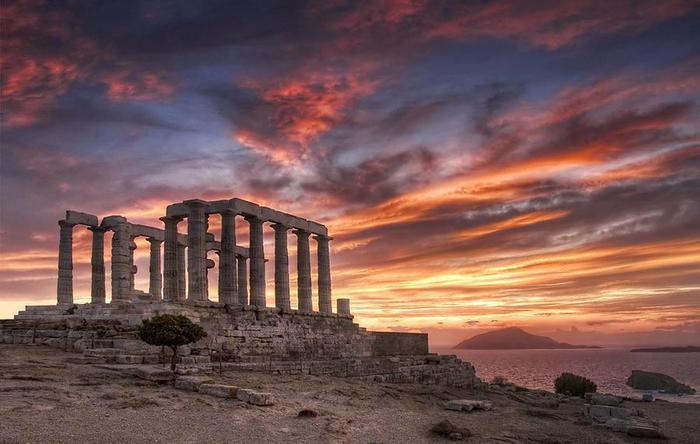Храм Посейдона, Греция (700x444, 45Kb)