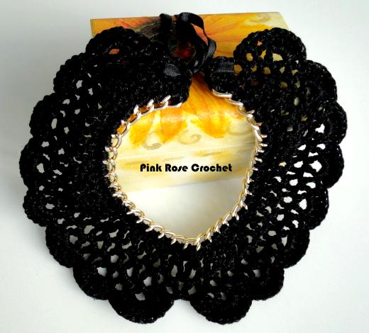 Collana Colar Golinha Crochet Fashion Chain Collar (520x470, 298Kb)