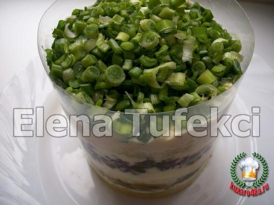 салат букет нарциссов (9) (550x412, 170Kb)