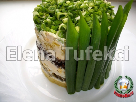 салат букет нарциссов (11) (550x412, 163Kb)
