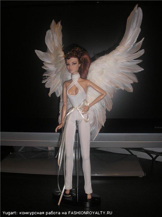 Как кукле сделать крылья ангела