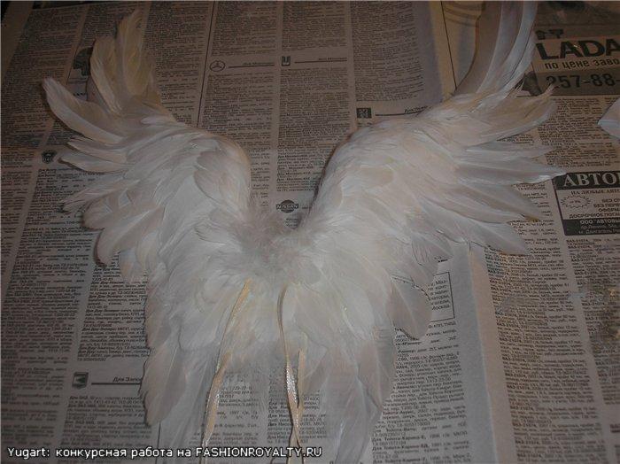 Как сделать своими руками крылья для ангела 124