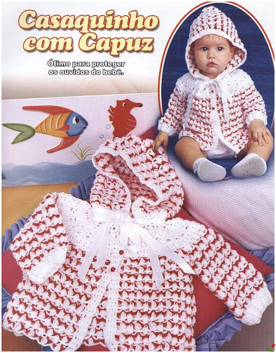 Вязание кофточек на детей от 1 года