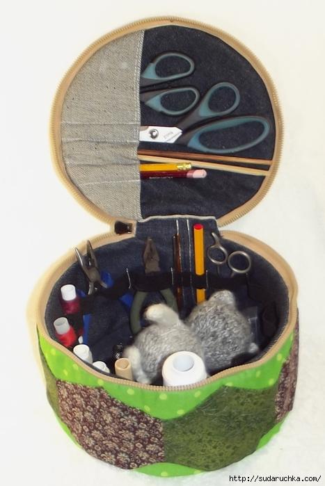 Органайзеры для швейных принадлежностей своими руками