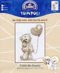 Мишки от DMC (схемы).  Схемы для вышивки очаровательных...  K-5532 Bucy Lickle Bee, K5533 Мишка с сердечком.