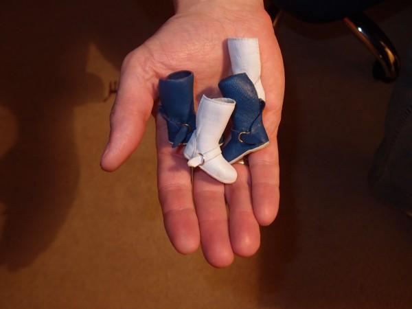 Обувь из полимерной глины для кукол