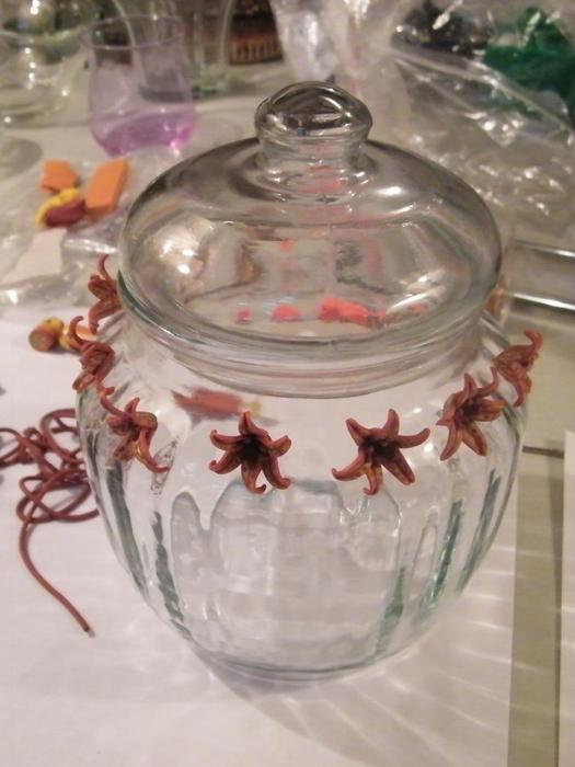 декорирование вазы полимерной глиной (39) (525x700, 207Kb)