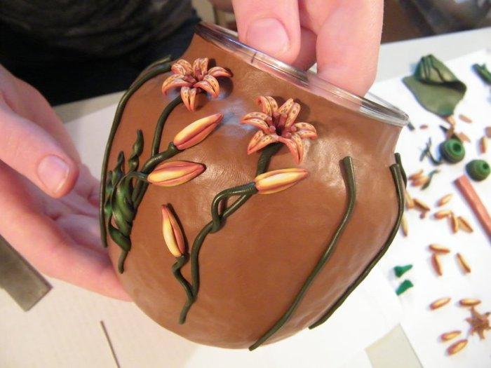 декорирование вазы полимерной глиной (56) (700x525, 54Kb)
