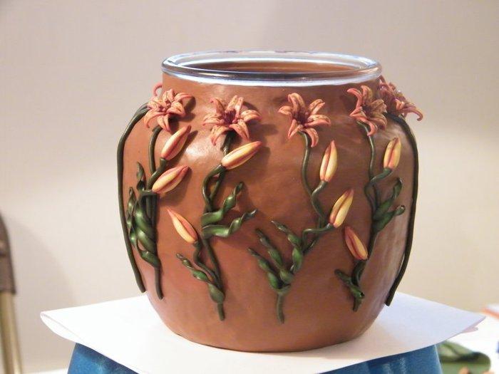 декорирование вазы полимерной глиной (62) (700x525, 44Kb)