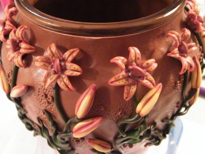 декорирование вазы полимерной глиной (69) (700x525, 64Kb)