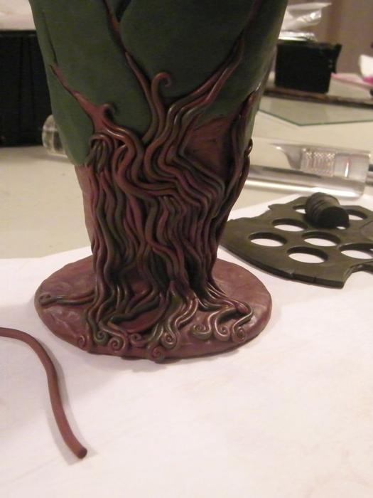 декор вазы полимерной глиной (18) (525x700, 180Kb)