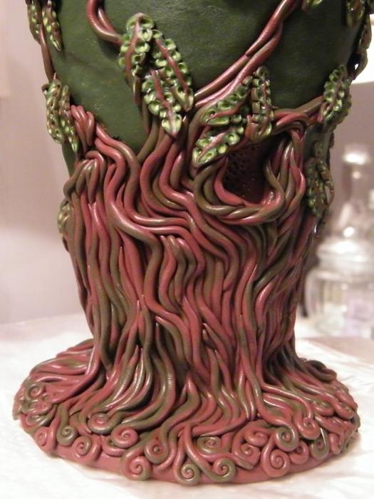 декор вазы полимерной глиной (27) (525x700, 247Kb)