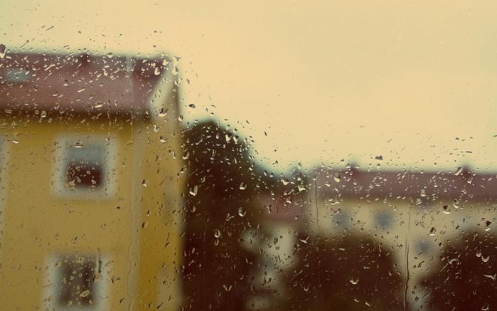 Обои для рабочего стола - дождь.дождь за окном,капли (700x437, 319Kb)