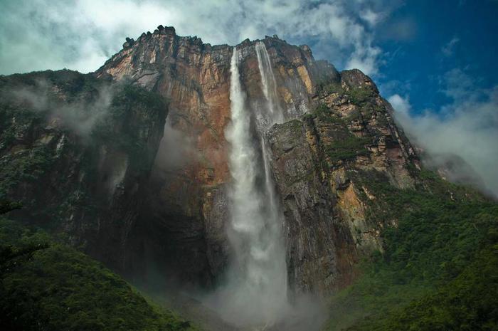 Водопад Анхель, Венесуэла (700x465, 44Kb)