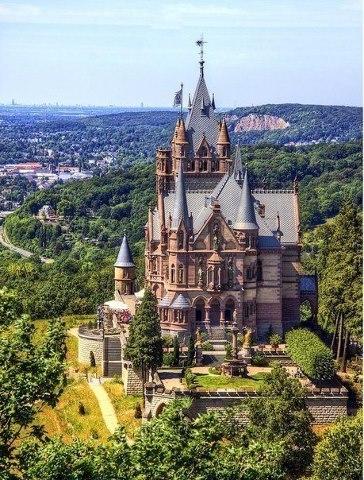 Замок Драхенбург, Германия (364x480, 72Kb)