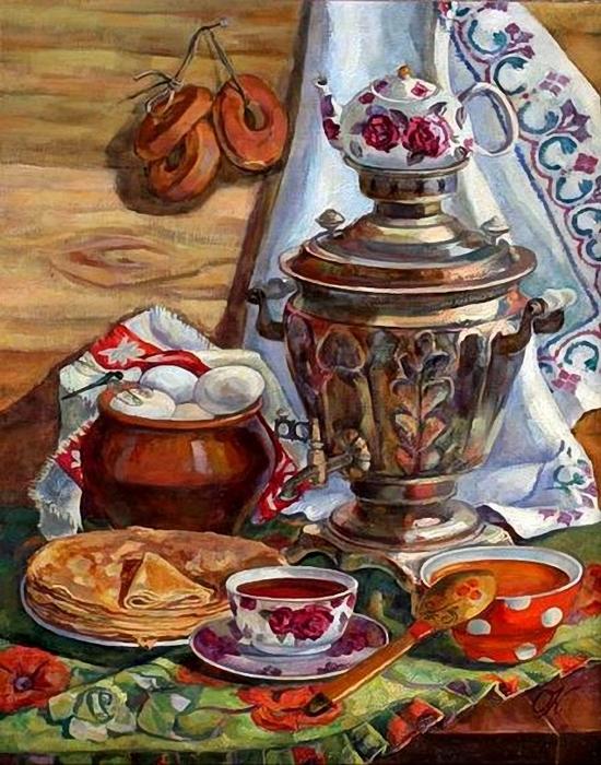 Киселёва Ольга. Сибирский натюрморт (550x700, 335Kb)