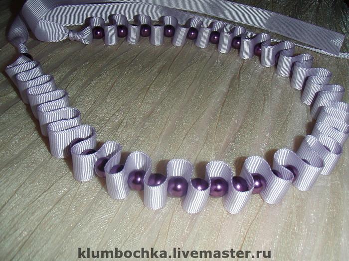 Изделия из репсовых лент