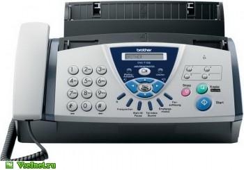 Факс Brother FAX-T106 (автоответчик) (350x245, 33Kb)