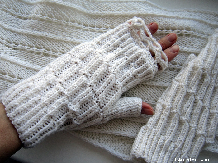 белый шарф и митенки, 1 (700x525, 343Kb)