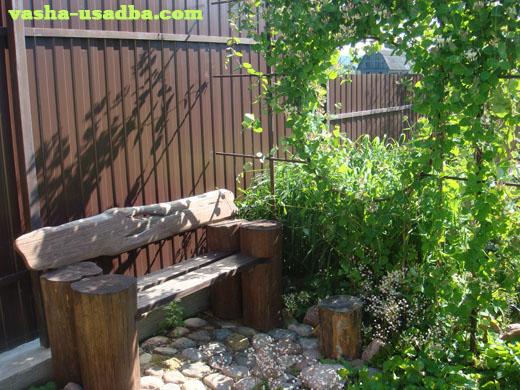 Зона отдыха в саду самое интересное в