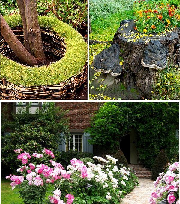 Нашего дома идеи для сада часть 1 сад