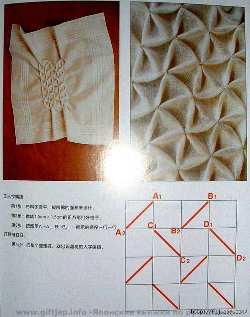 Буфы из ткани своими руками