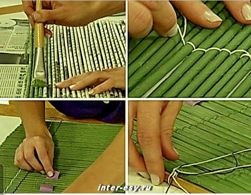 Как сделать жалюзи из ткани своими руками мастер класс фото