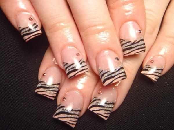 Дизайн ногтей песком видео