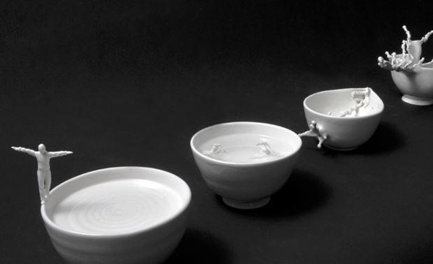 Джонсон Цанг. Скульптуры из глины и стали