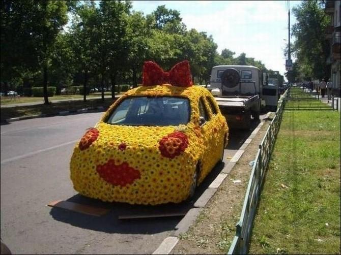 смешной автомобиль фото (670x502, 104Kb)