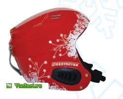 Шлем горнолыжный Destroyer DSRH-222 красный принт M (249x201, 13Kb)