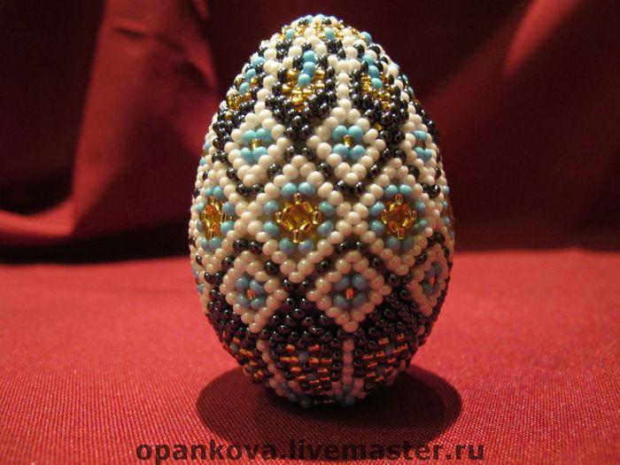 На Пасху принято дарить близким и друзьям пасхальные яйца.  Подарите любимым яйцо из бисера.  Получить такое яйцо в...