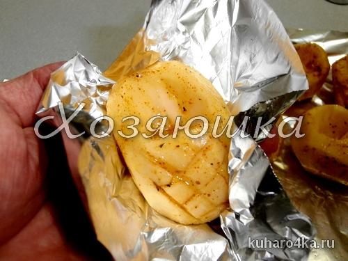 Фаршированная картошка