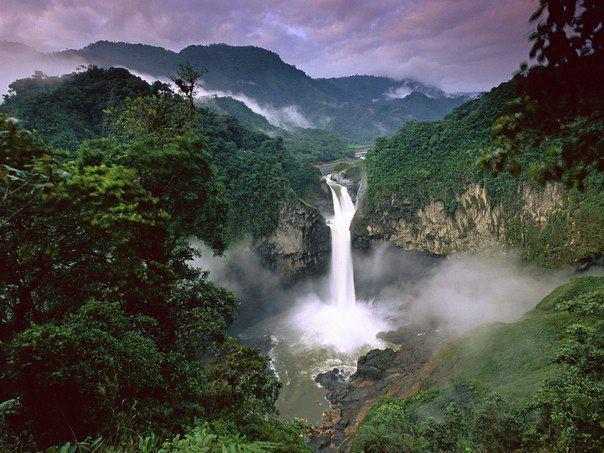 Водопад Сан Рафаэль, Эквадор (604x453, 65Kb)