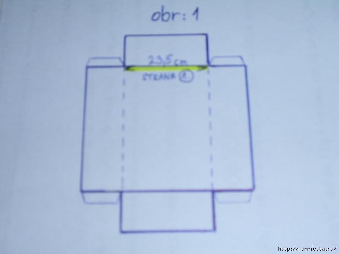 угловая корзинка из газет (15) (700x525, 46Kb)