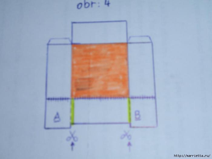 угловая корзинка из газет (17) (700x525, 54Kb)