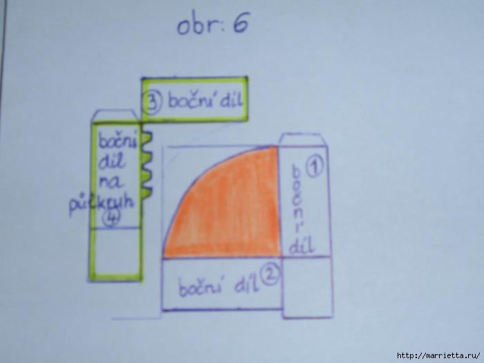 угловая корзинка из газет (19) (700x525, 60Kb)
