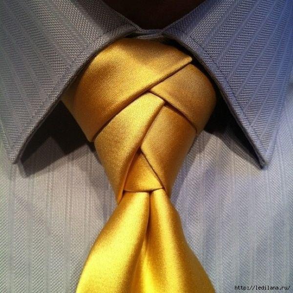 галстук с двойным узлом (600x600, 192Kb)