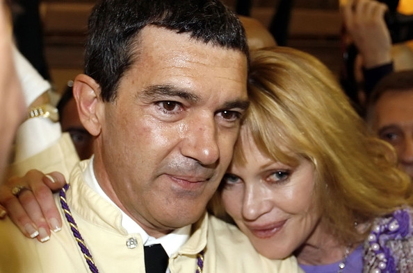Melanie Griffith Antonio Banderas Participates On The Easter.  500 x 331.  150 x 150.