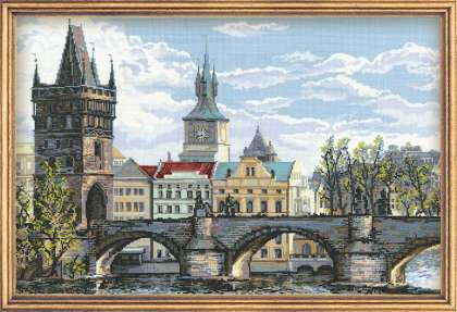 Часть 30 - Карлов мост (схема