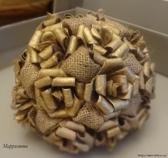топиарий из мешковины и яичных лотков (6) (700x660, 307Kb)