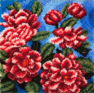 Техника ковровой вышивки мастер класс