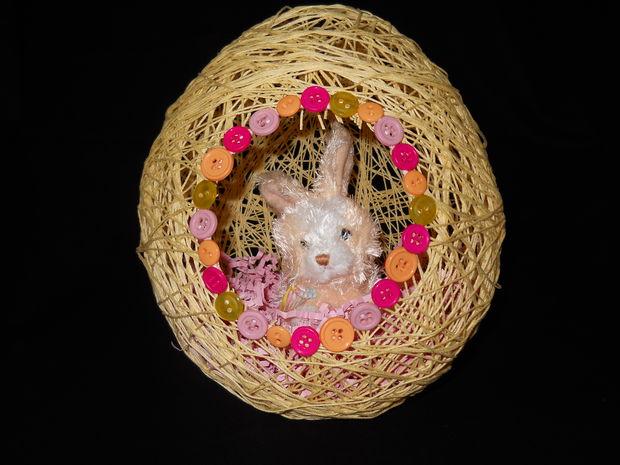 Пасхальное яйцо своими руками из ниток