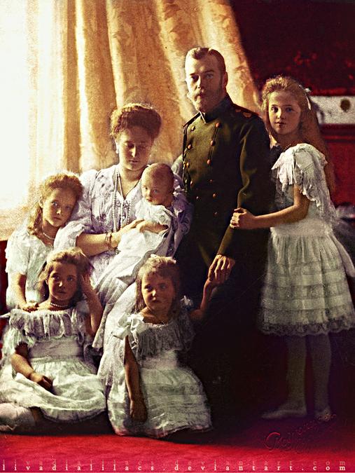 Сестры стали убеждать царскую
