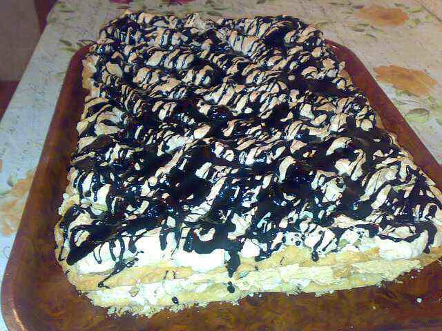 Воздушный торт пошаговый с фото