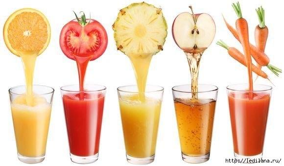 соки и наше здоровье (580x339, 84Kb)