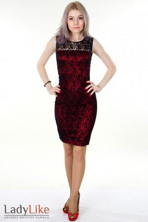 Длинное вечернее платье из гипюра.  Yozshukasa.  71059 байтДобавлено.