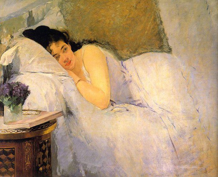 woman-awakening-1876 Eva Gonzales (700x569, 86Kb)